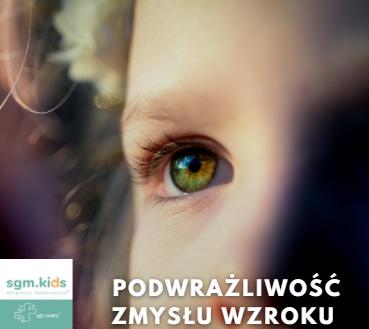 Read more about the article 3 wskazówki, które pomogą lepiej wspierać dziecko z podwrażliwością zmysłu wzroku